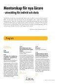Mentorskapskonferensen 2013 program.pdf - Lärarfortbildning - Page 2