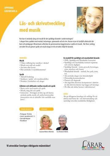 Läs- och skrivutveckling med musik H2.pdf - Lärarfortbildning