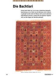 Die Bachtiari - Galerie Kistler