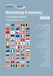 Restructuring & Insolvency - Andreas Neocleous & Co