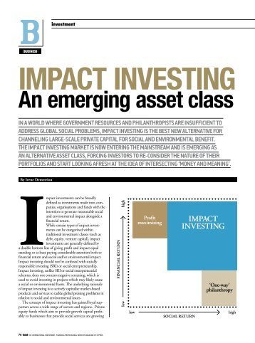 impact investing - an emerging asset class.pdf - Andreas Neocleous ...