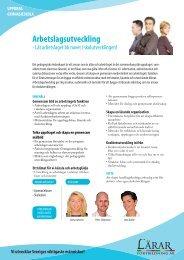Arbetslagsutveckling Gy H.pdf - Lärarfortbildning