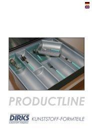 PRODUCTLINE KUNSTSTOFF-FORMTEILE - EKT GmbH
