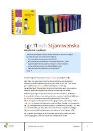 läs vidare i denna pedagogiska planering (pdf) - Liber AB