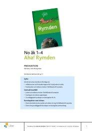 Aha! Rymden - Liber AB