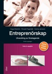 Entreprenörskap - Liber AB