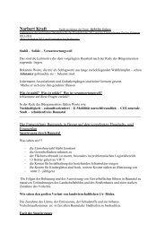 Rede zum Baunataler Haushalt 2011 - Gruene-baunatal.de