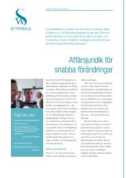 informationsblad - Setterwalls