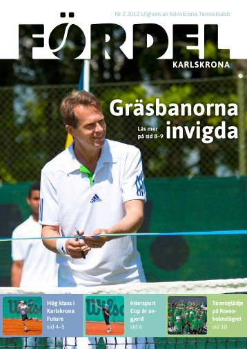 Klicka här för att öppna Fördel 2, 2012. - Karlskrona Tennisklubb