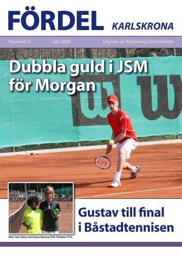 Klicka här för att öppna Fördel 2, 2009. - Karlskrona Tennisklubb