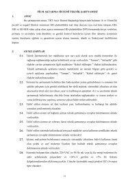 FİLM AKTARMA SİSTEMİ TEKNİK ŞARTNAMESİ 1. AMAÇ Bu ... - TRT