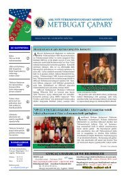 ABŞ-nyň Türkmenistandaky işleri wagtlaýyn ynanylan