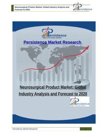 Global neurosurgery market