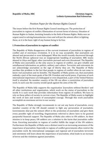 """position paper human rights """"human rights and human dignity at the centre in return policies""""  in a first  section of this position paper, caritas europa sets out the concerns we have on."""