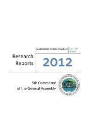 Research Reports - munol