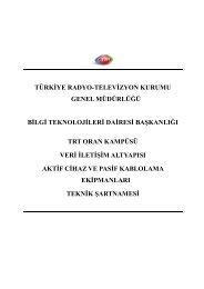 2013-50520_1_aktıf_kablolama_taslak_teknık_sartname_2013 - TRT