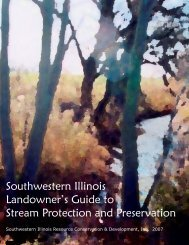 Southwestern Illinois Landowners Guide to Stream Protection