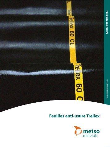 Feuilles anti-usure Trellex - Metso