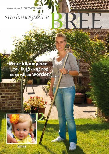 Stadsmagazine september 2011 - Stad Bree