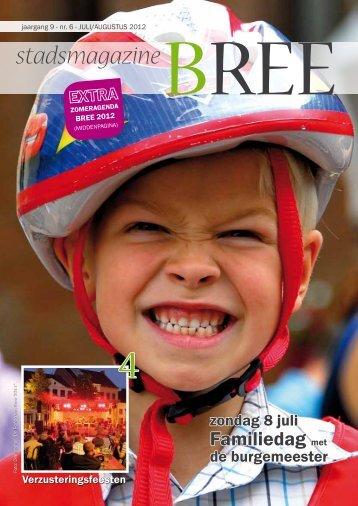 Stadsmagazine zomer 2012 - Stad Bree