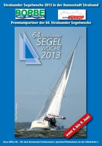 Programmheft - Stralsunder-Segelwoche.org