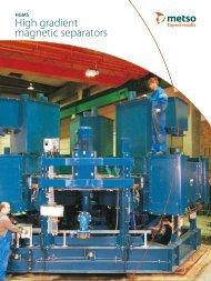 High gradient magnetic separators - Metso