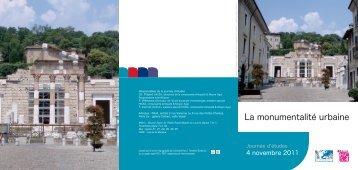 La monumentalité urbaine - Université Paris 1 Panthéon-Sorbonne