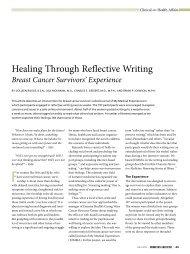 Healing Through Reflective Writing - Essentia Daily Dose