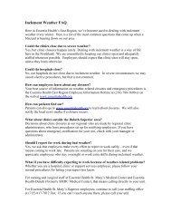 Inclement Weather FAQ - Essentia Daily Dose - Essentia Health