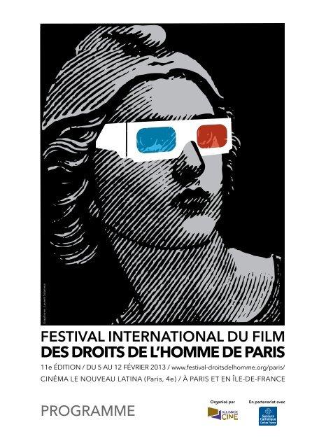 Programme - Festival international du film des Droits de l'Homme