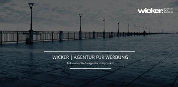 WICKER | AGENTUR FÜR WERBUNG Portfolio