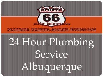 24 Hour Plumbing Service Albuquerque