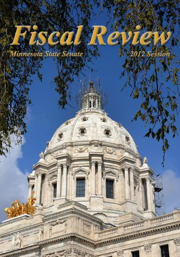 2012 Fiscal Review - Minnesota Senate