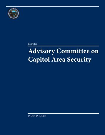 Advisory Committee on Capitol Area Security - Minnesota Senate