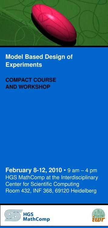 Flyer (pdf) - Model Based Design of Experiments
