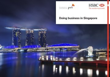 HSBC Doing business in Singapore