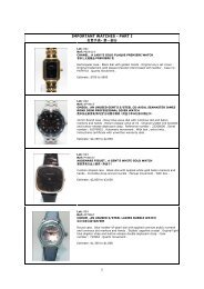 IMPORTANT WATCHES - PART I 名贵手表- 第一部分 - GPJW Auction