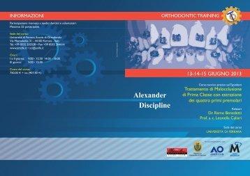 Alexander Discipline - Micerium