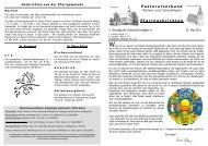 22. Mai bis 28. Mai 2011 - Pastoralverbund Welver-Scheidingen