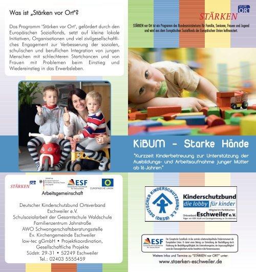 flyer kibum.qxp - Integration Eschweiler