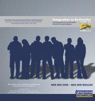 Flyer Wirtschaft und Beschäftigung - Integration Eschweiler