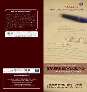 STARKE BEWERBUNG - Integration Eschweiler