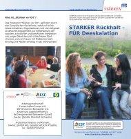 STARKER Rückhalt – FÜR Deeskalation - Integration Eschweiler
