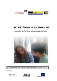 SELBSTÄNDIG IN ESCHWEILER - Integration Eschweiler
