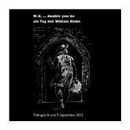 W. B. … double you be. Ein Tag mit William Blake - WordPress ...