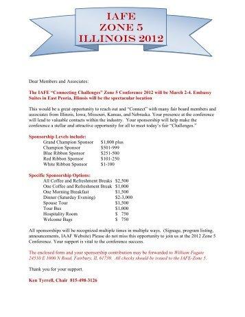 sponsor-information-welcome-letter-illinois-ociation-of- Vendor Welcome Letter Template on vendor performance scorecard, vendor registration letter, vendor request letter, vendor appointment letter, purchase requisition template, health fair invitation template, vendor thank you letter, vendor recommendation letter, vendor termination letter, vendor information letter, vendor reference letter, vendor rejection letter,