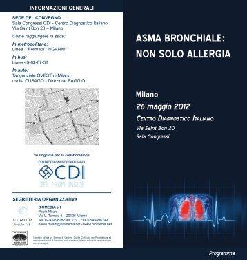 asma bronchiale - CDI