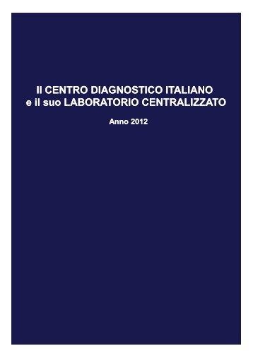 Brochure CDI Laboratorio Centralizzato - Studi Clinici - 2012 ...