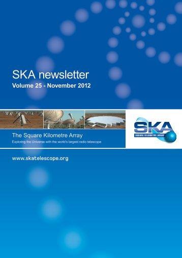 SKA Newsletter Volume 25 - The Square Kilometre Array