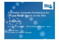 A Scalable Computer Architecture for On-line Pulsar Search on the ...
